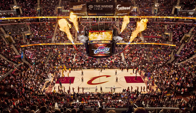 Cleveland Cavaliers Quicken Loans Arena Official Website