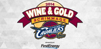 Wine & Gold Scrimmage Thumb (2014)